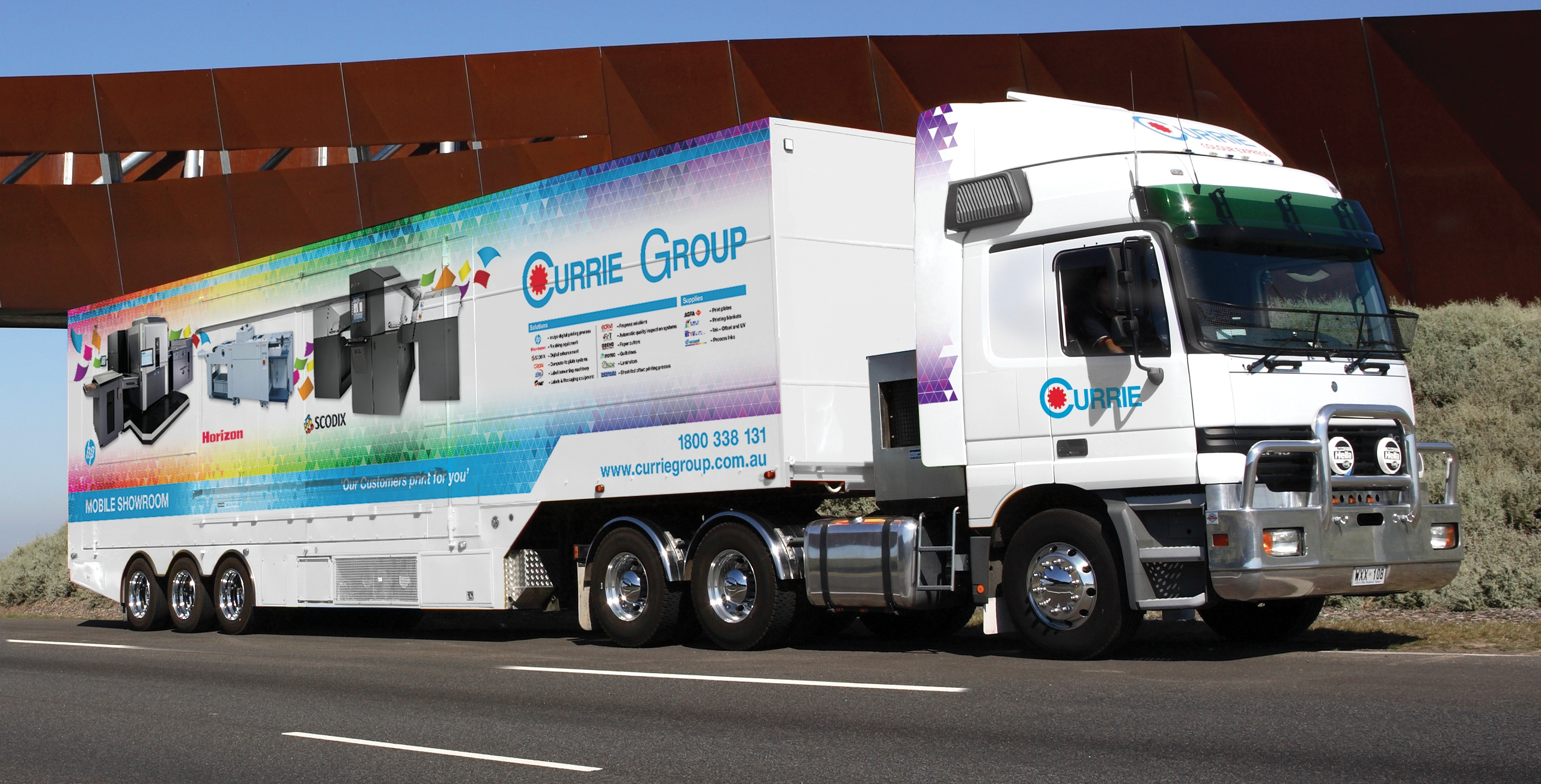 1 Currie Group Mobile Showroom 3