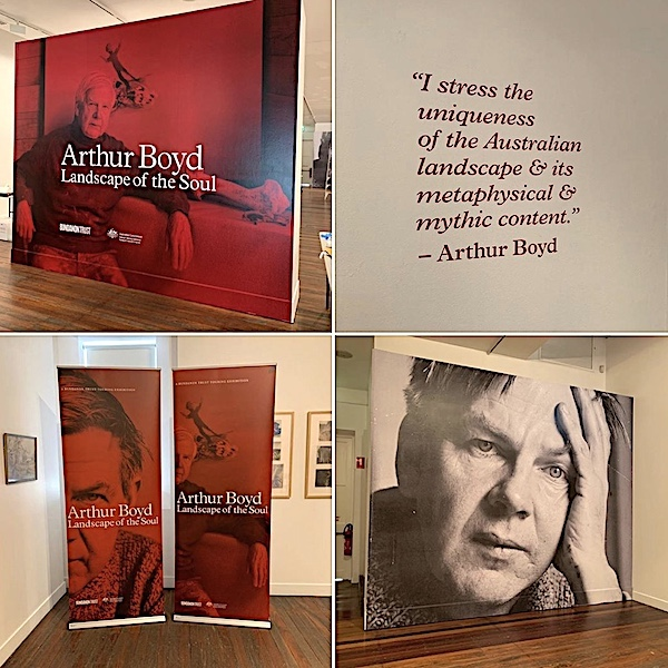 Arthur Boyd display