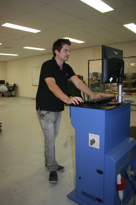 Adam Leach with HP FB700 UV-v2