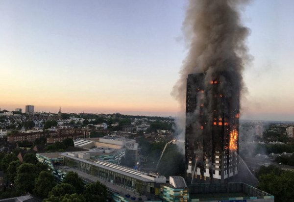 Grenfell Tower fire combustible cladding 1140x783